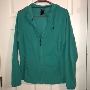 The North Face Hooded Zip Up Fleece